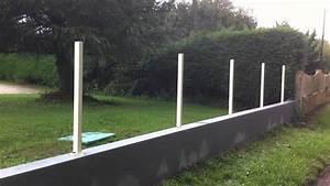 Cloture Aluminium Castorama : cloture aluminium acroyal youtube ~ Melissatoandfro.com Idées de Décoration