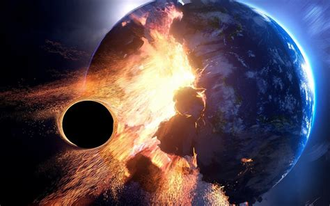 Earth Space Black Holes