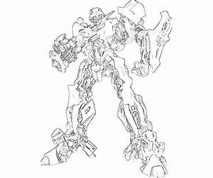Transformer Bumblebee Coloring Page - Coloring Home