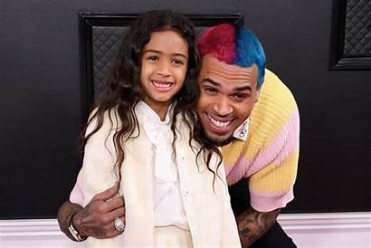 Chris Brown Royalty Daughter Grammys