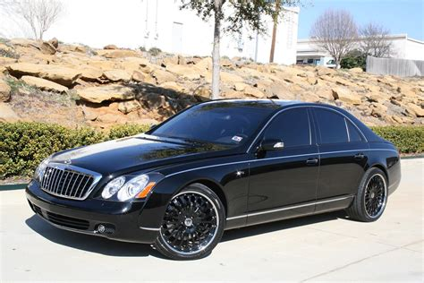 """2008 Maybach 57s With 22"""" Modulare M1 3-piece Forged"""