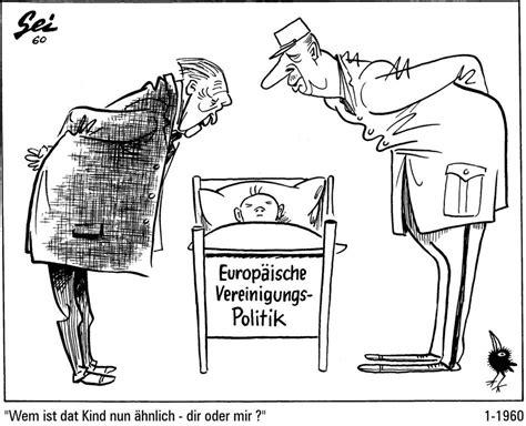 caricature de geisen sur l du franco allemand en faveur d une politique d