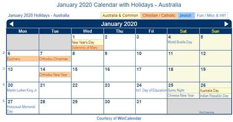 print friendly january australia calendar printing