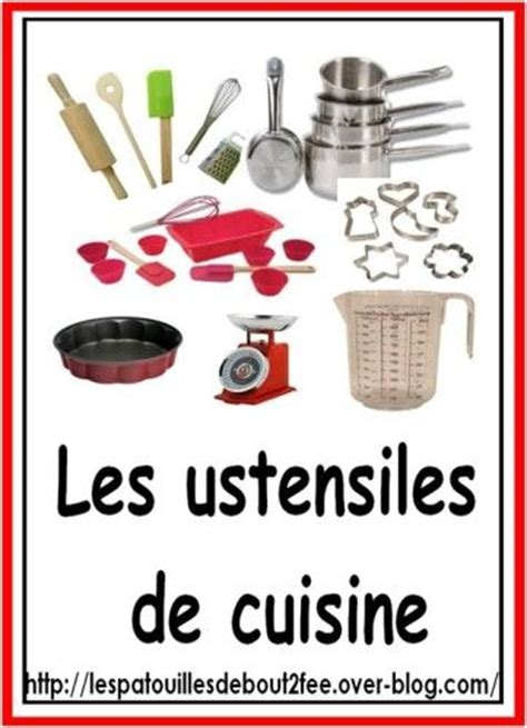vocabulaire des ustensiles de cuisine 17 best images about regles on cover pages