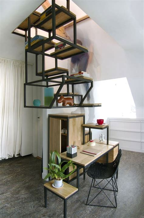 desk storage  shelving  combined   innovative