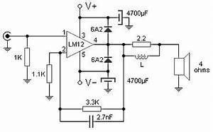 100w audio amplifier circuit based m12clk ic With small ic amplifiers for speakers