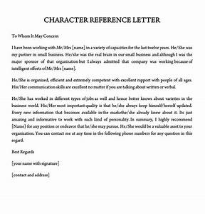 Character Reference Letter  30  Samples For Court