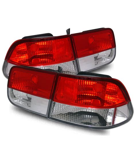 honda civic tail lights for sale 1996 2000 honda civic 2dr coupe jdm style tail lights