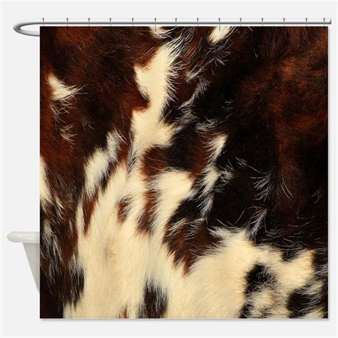 cow print shower curtains cow print fabric shower