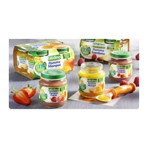 bl 233 dina petit pot fruit pomme p 234 che 130 g 4 6 mois comparer avec touslesprix
