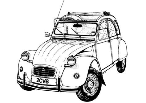 faire la cuisine dididou coloriage voiture classique page 2
