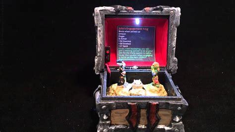 world of warcraft wedding ring box world of warcraft horde armory chest custom engagement ring youtube