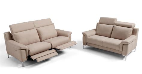 canapé cuir relax amina cuir épais canapé relax électrique