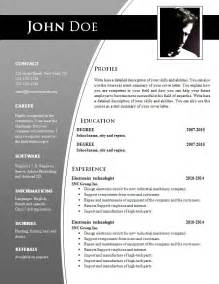 resume template in word free cv templates for word doc 632 638 free cv template dot org