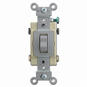 Gray 4 Way Toggle Switches Leviton Cs415
