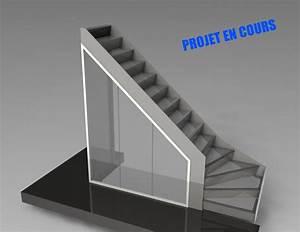 Escalier 1 4 Tournant Droit : escalier 1 4 tournant ambrose design escalier et rangement pinterest escaliers escalier ~ Dallasstarsshop.com Idées de Décoration