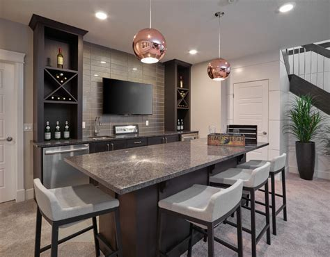 Home Bar Furniture Edmonton by The Quot Chateau Quot Transitional Home Bar Edmonton By
