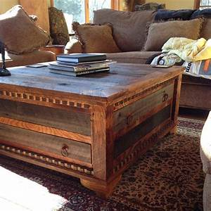 country roads alder wood square coffee table With square country coffee table
