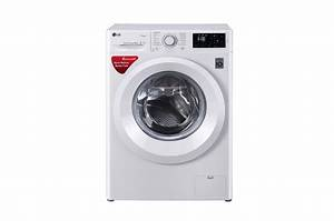 Lg Fht1006hnw 6 Kg Front Loading Washing Machine  Steam