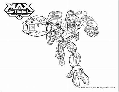 Steel Max Coloring Pages Funny Characters