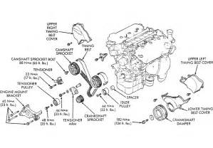 I Am Replacing The Water Pump And Timing Belt On A 1999 Chrysler Sebring Convertible  Two
