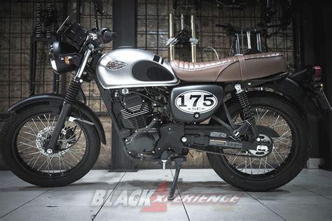 Kawasaki W175 Modified by Mudahnya Memodifikasi Motor Retro Klasik Kawasaki W175