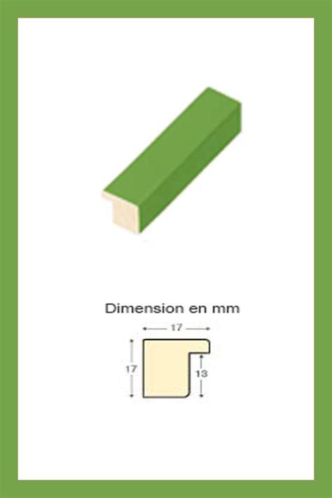 cadre en bois vert