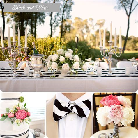 black and white striped wedding inspiration two delighted