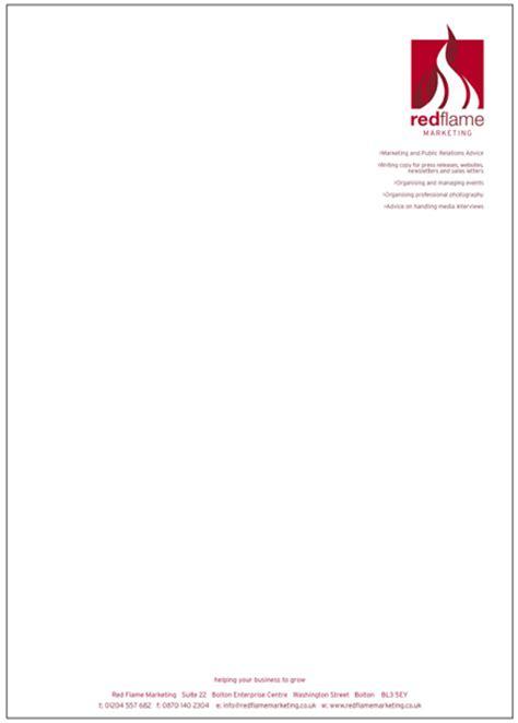 letterhead printing  bolton   design
