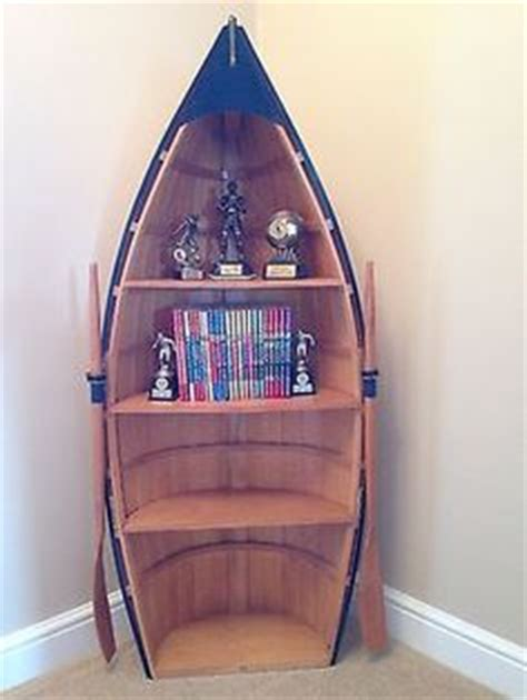 wooden boat shaped bookcase woodworking projects plans