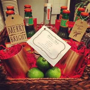 Secret Santa Templates Diy Moscow Mule Gift Basket Gifts And Packaging