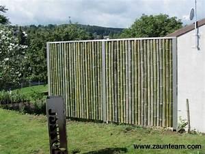 bambuszaun sichtschutz affordable bambusmatte als With französischer balkon mit sichtschutz garten bambuszaun