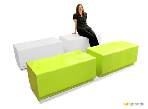 Funky Benches by Bench Modular Seating For Industrial Gardens