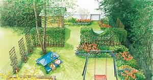 Gartenhaus Schmal Und Lang : gestaltungsideen f r einen reihenhausgarten hecken und nutzgarten mein sch ner garten ~ Whattoseeinmadrid.com Haus und Dekorationen
