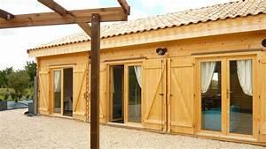 Maison bois en kit de 108m² en bois en kit