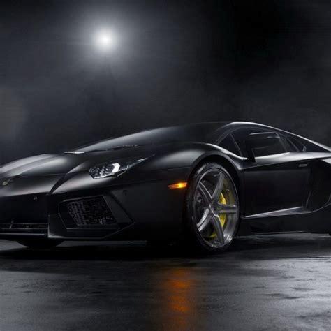 10 Best Lamborghini Aventador Matte Black Wallpaper Full