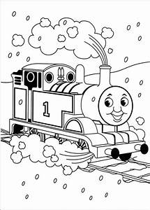 Thomas the Tank Engine Coloring Pages (15) - Coloring Kids