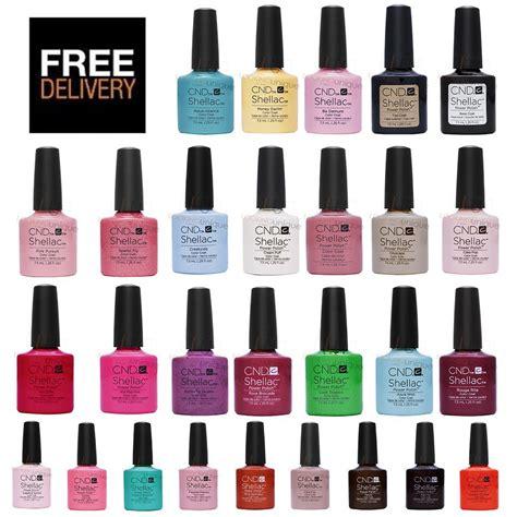 shellac nails colors cnd shellac uv nail 2017 colours new winter