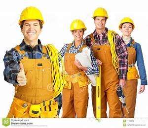 Builder Team Stock Photo  Image Of Drawings  Builder