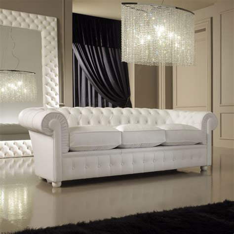 Modern White Leather Sofa  White Leather Sofa Decorating