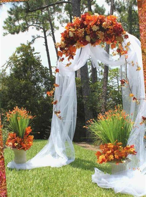 decoration mariage automne pour une journee magique ideeco