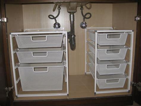 Small Storage Cabinet For Bathroom by Bathroom Organizing The Sink Organization Pleia2