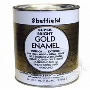 sheffield super bright gold metallic boat lettering paint With gold lettering paint