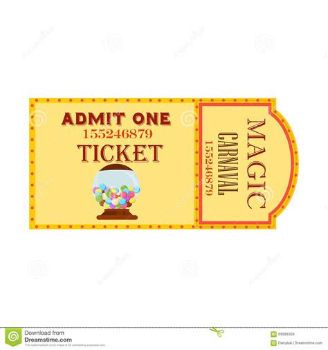 ticket stub template image ticket stub template free download images pictures