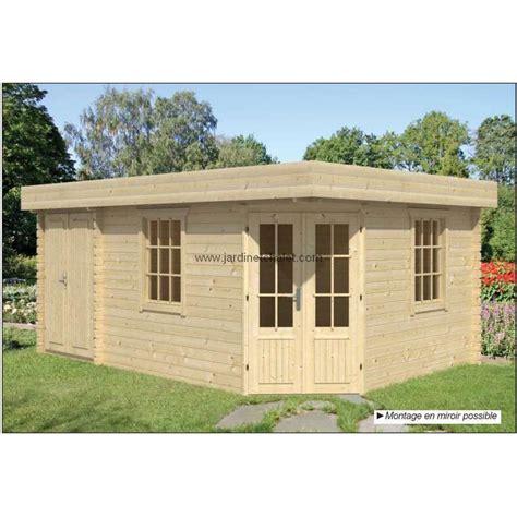 abri de jardin toit plat pas cher bureau exterieur kit