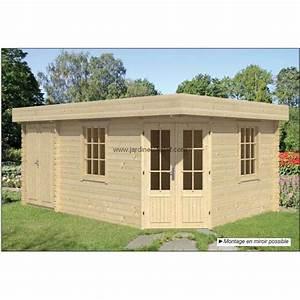 Abri De Jardin Metal Castorama : abri de jardin toit plat 12m2 ~ Dailycaller-alerts.com Idées de Décoration