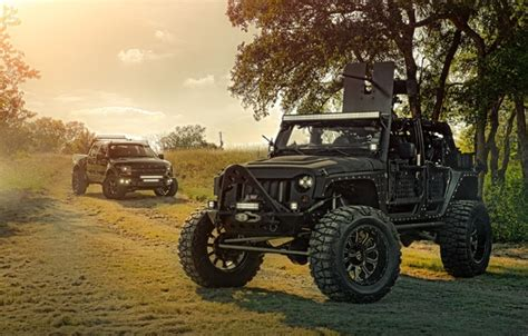 wallpaper ford nature cars front wrangler jeep