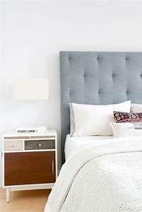 Tete De Lit Design : choisir une t te de lit en tissu avantages et conseils ~ Teatrodelosmanantiales.com Idées de Décoration