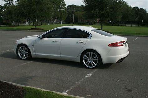Sell Used 2010 Jaguar Xf White Rare Premium With Portfolio