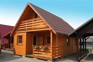 Montované chaty z polska